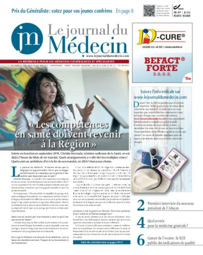 Le journal du Médecin - Affiliation d'un an