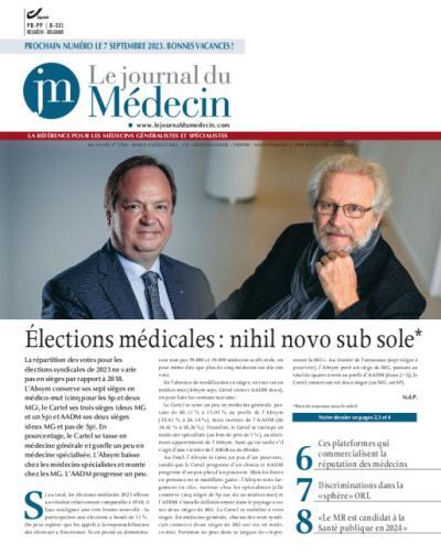Le journal du Médecin - Affiliation d'un an - Base