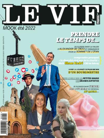 Le Vif/L'Express - 1 an par virement + cadeau
