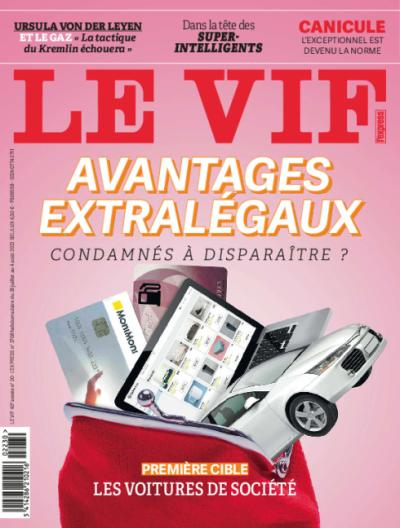 Le Vif/L'Express - 1 an par domiciliation + cadeau