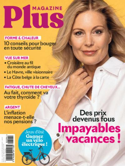 Plus Magazine - Abonnement d'un an via virement