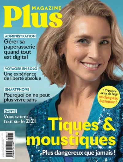 Plus Magazine - 1 an via virement + cadeau