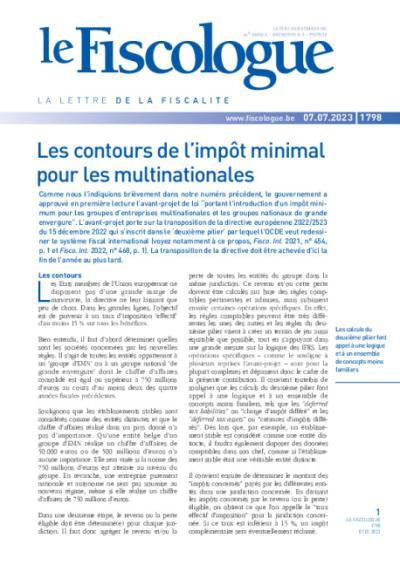 Le Fiscologue - 1 an(s) 449.99 EUR avec cadeau