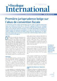 Le Fiscologue International