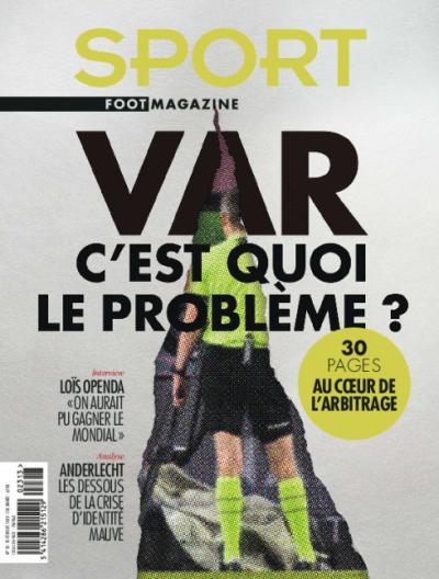 Sport/Foot Magazine - 13 numéros + 1 bouteille de champagne